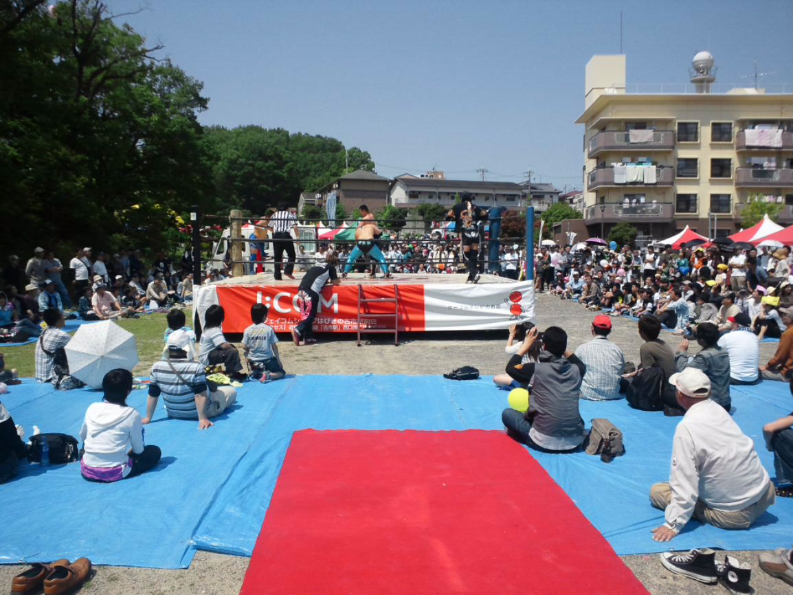 はびきの祭大盛況!大畠、飯田の魅力とサプライズ岸和田さん乱入!