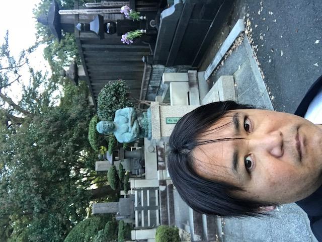力道山先生の墓参り