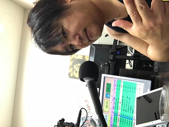 地元八尾市のFMに出演